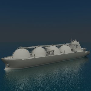3ds max lng tanker
