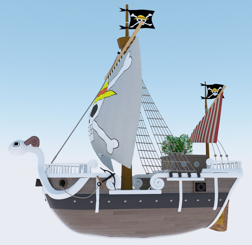3ds max piece going merry