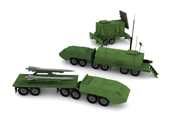 3d patriot missile model