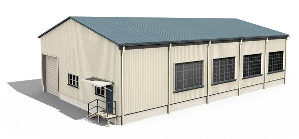 3d model building warehouse