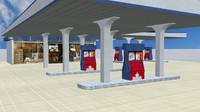 assets games architecture 3d model