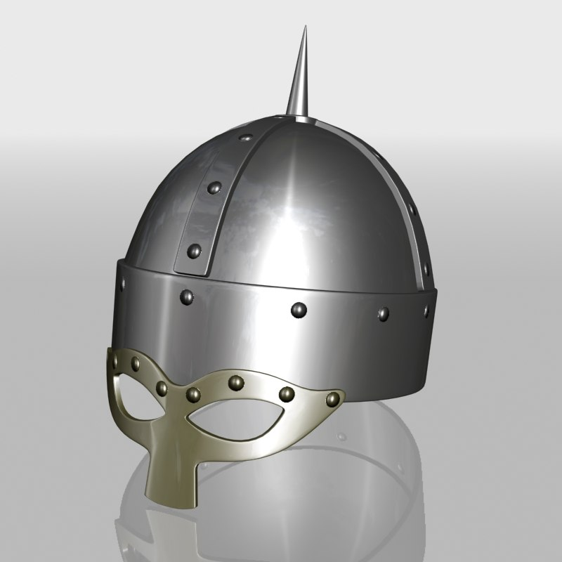viking helmet 3d model