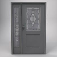 cinema4d terma steel door