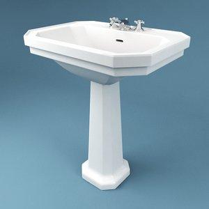 bathroom sink 3d model