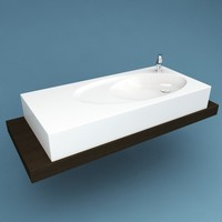 3ds max bathroom sink