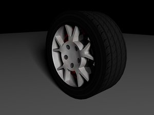 c4d wheel