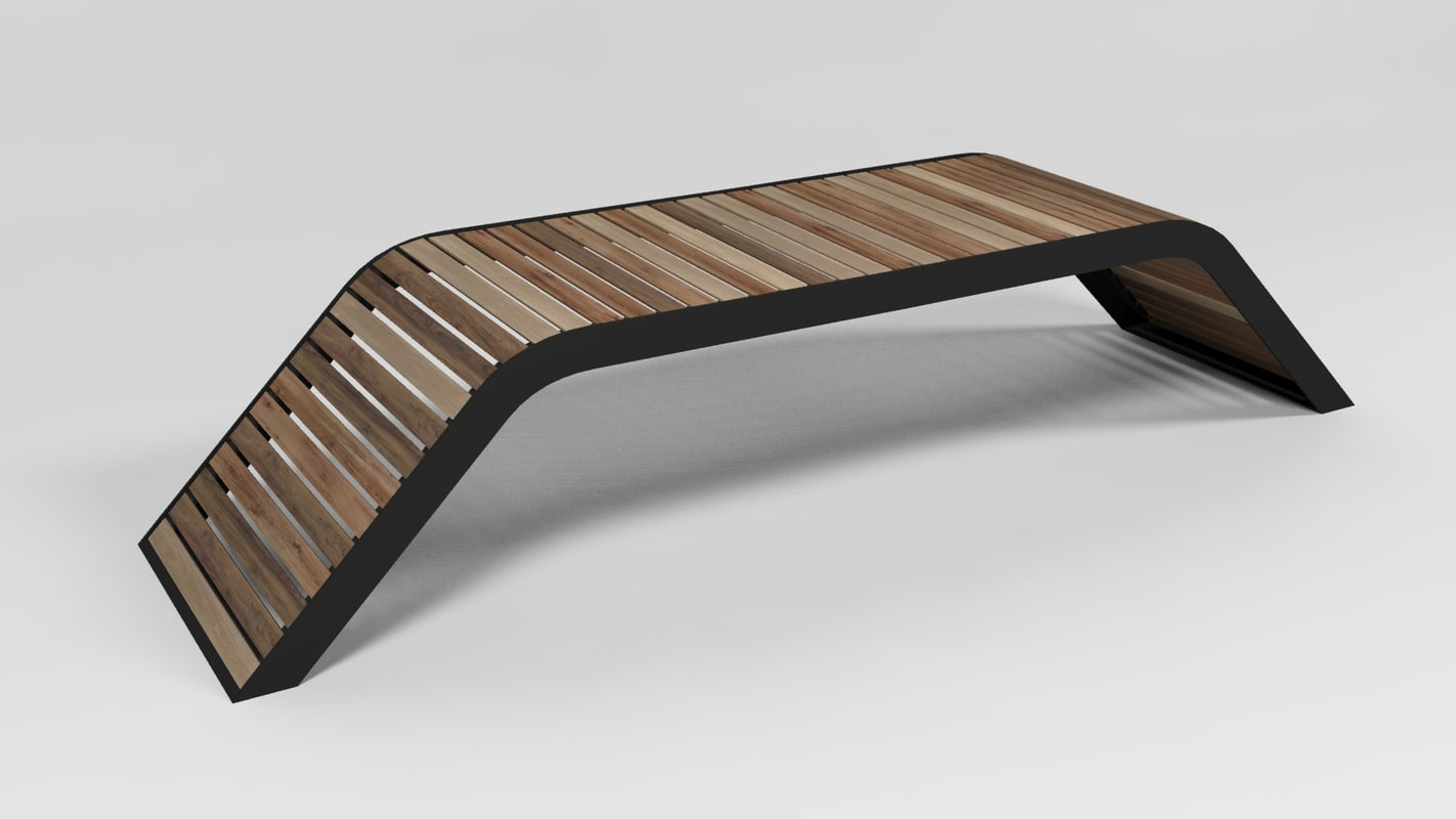 wood bench max