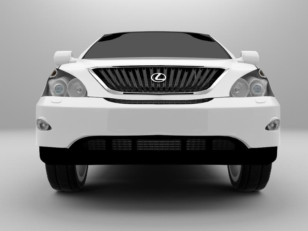 3d model lexus rx 300