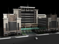 3ds max mall