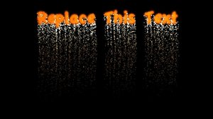 tp fireworks text c4d