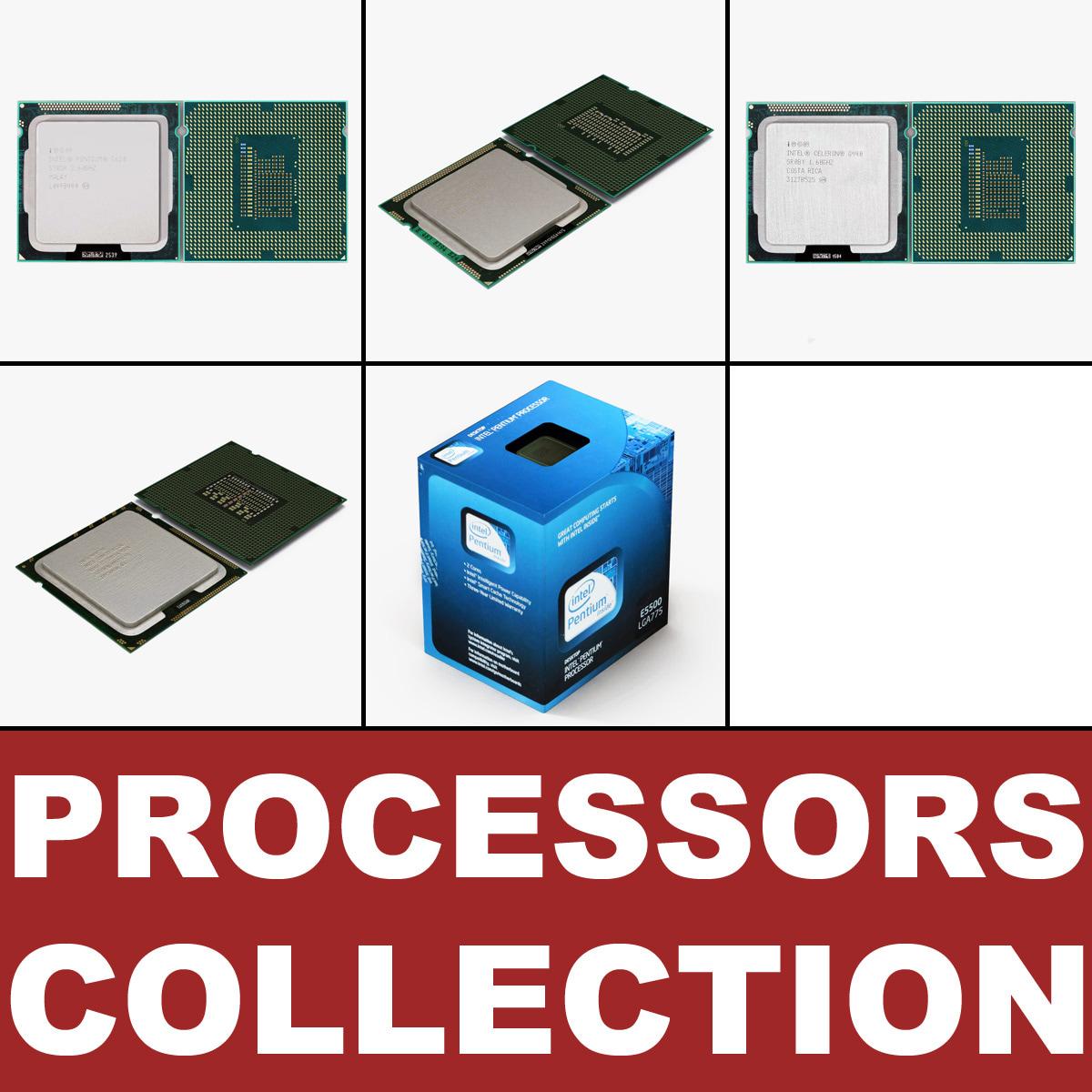 3d intel processors model