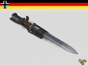 lightwave k98 german wwii