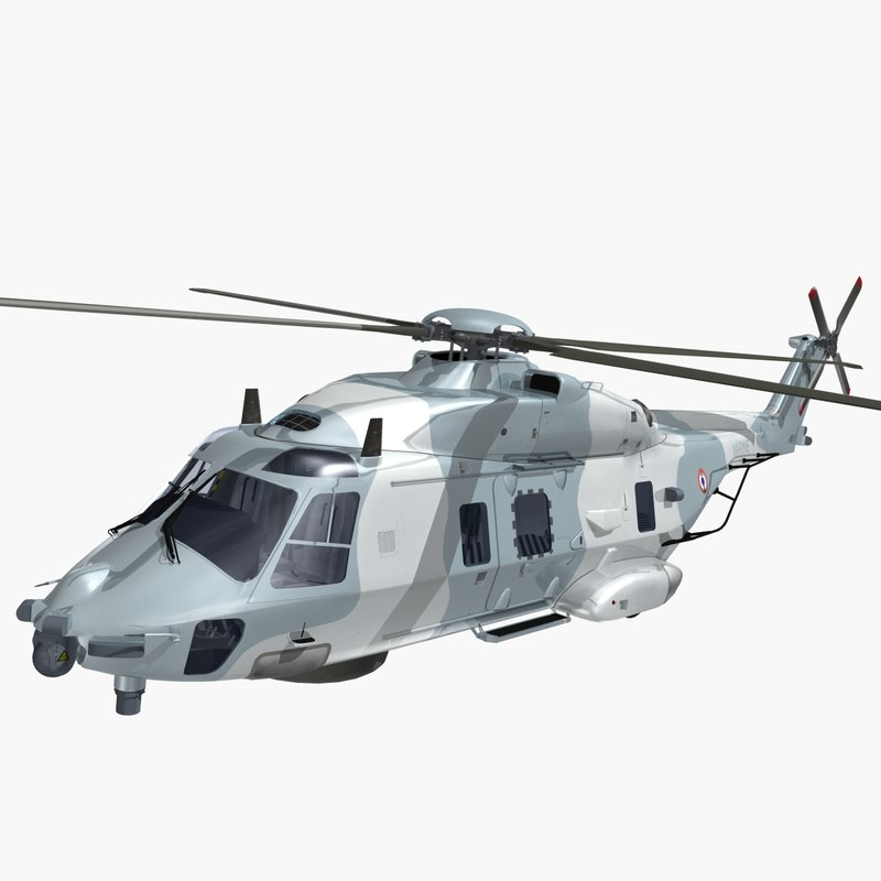 3ds nhindustries helicopter french navy