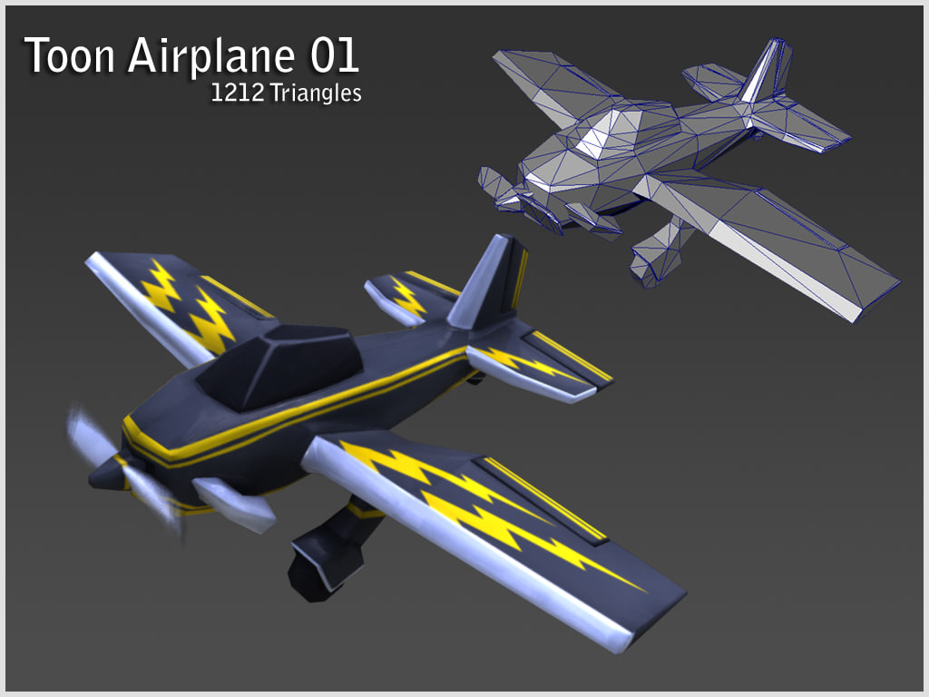 toon airplane pack ma