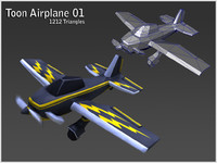 Toon Airplane Pack