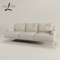 3d jean sofa 3 seater