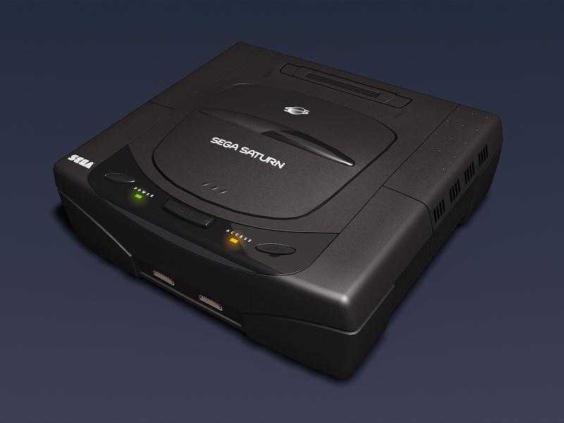 3d sega saturn video console