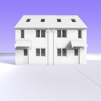 BRITISH 2 STOREY SEMI DETACHED HOUSE UNIT 3