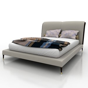 bed angelo cappellini 3ds