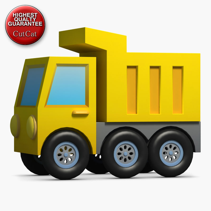 construction icons 27 tipper 3d 3ds