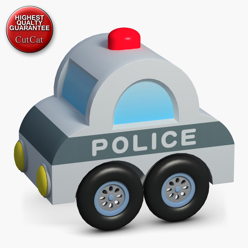 construction icons 49 police 3d 3ds