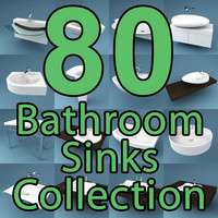 80 Bathroom Sinks Collection
