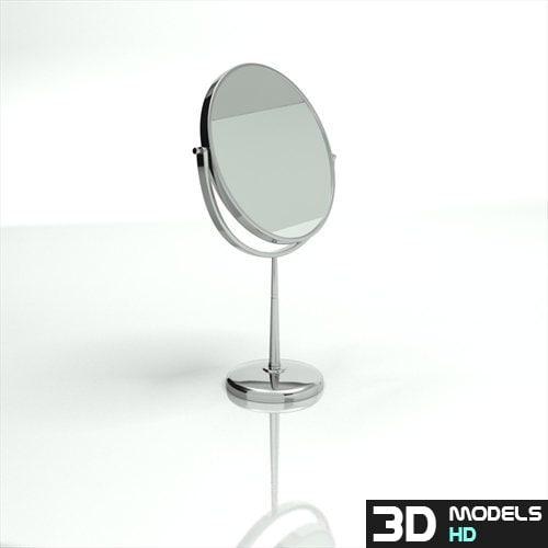3dsmax magnifying mirror