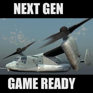 3d games cargo model