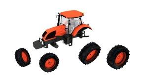 3d valtra s292 tractor model
