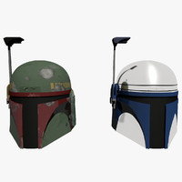 Boba Fett and Jango Fett Star Wars Helmets