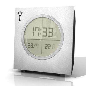 digital alarm 3d model