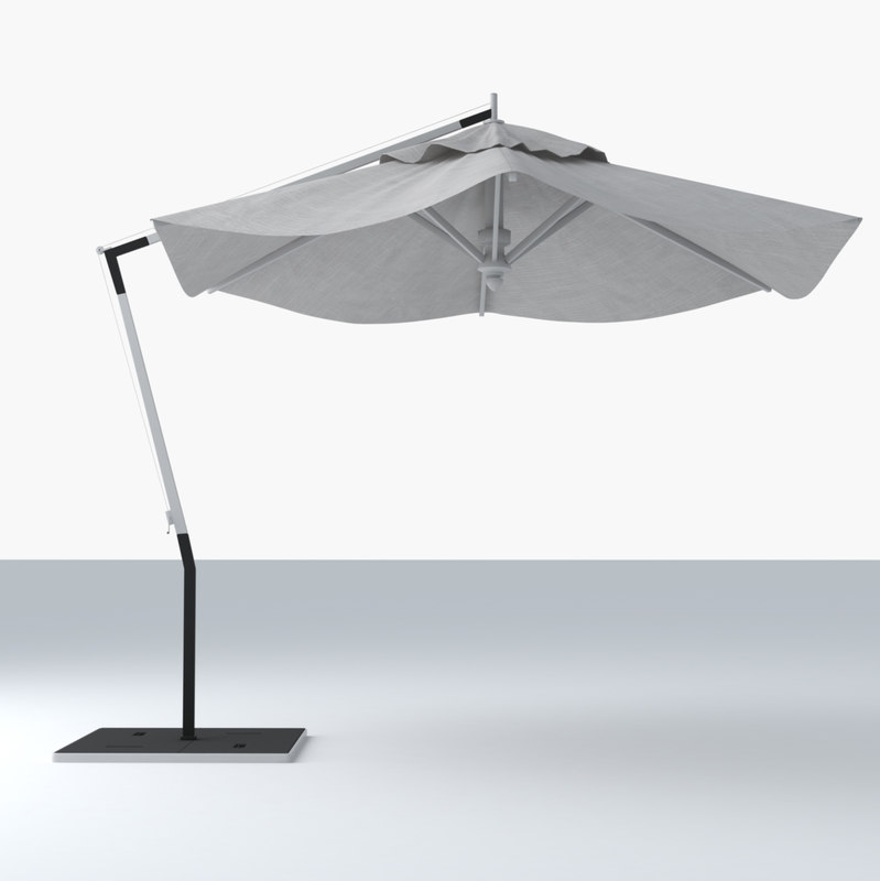 umbrella materials 3d model