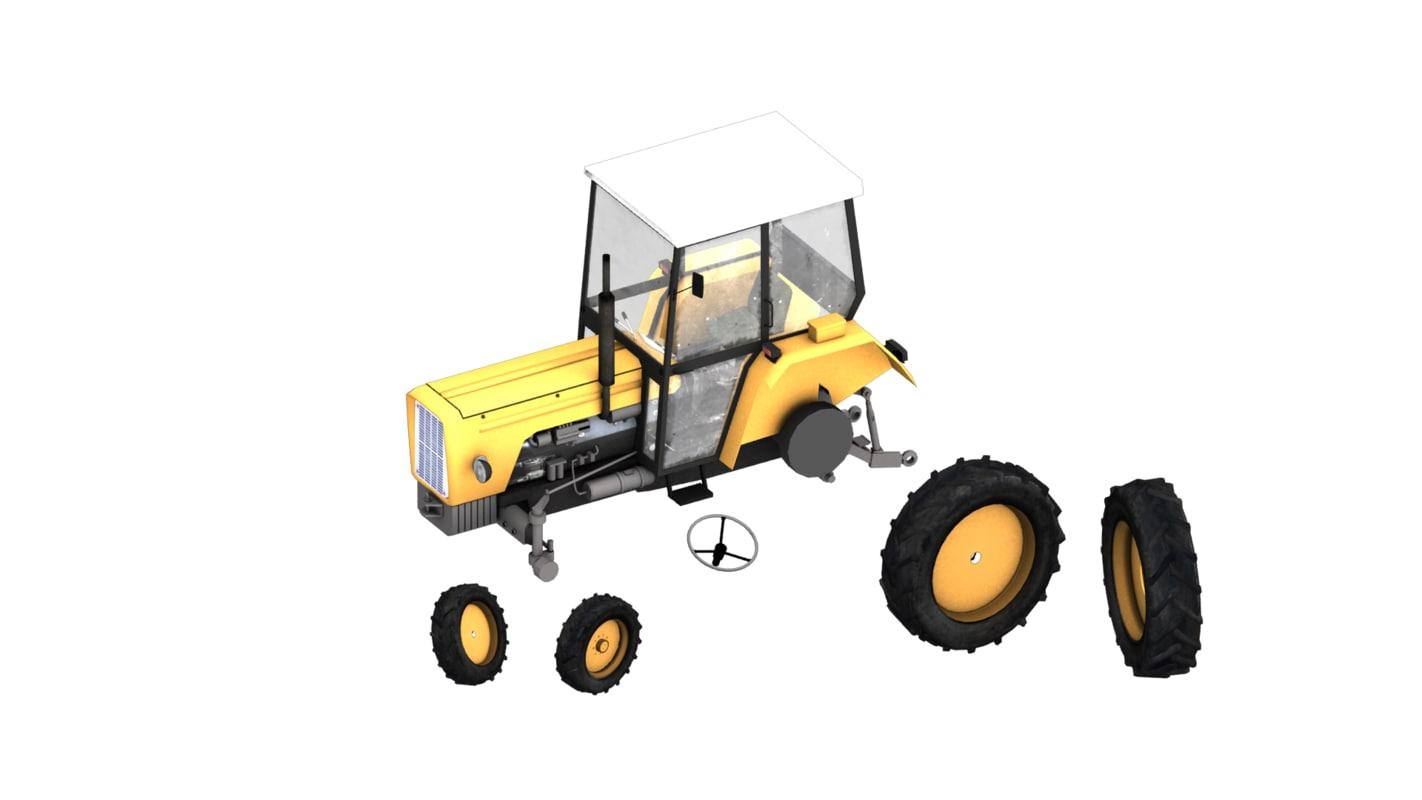 3d ursus 360 tractor