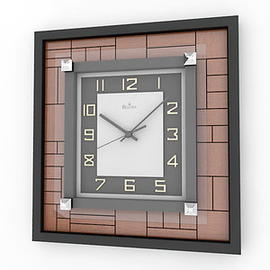 3d analog decorative wall clock