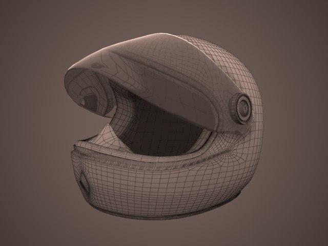 3d model helmet 10