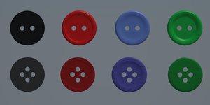 button suit 3d model