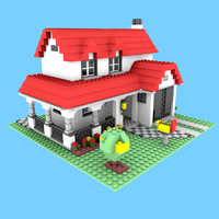 3ds lego house