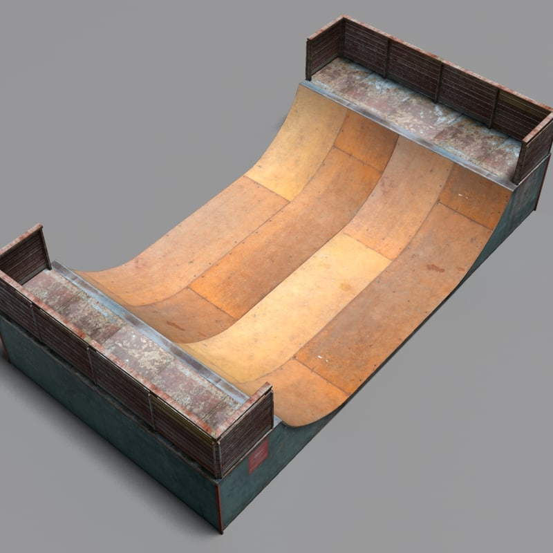 3ds max halfpipe coz111030