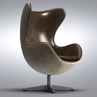 1950s Copenhagen Chair Hair-on-Hide Back