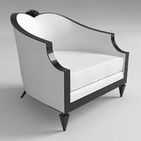 armchair christopher guy 3d model