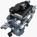 V12 Engine Lamborghini