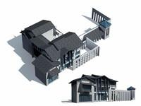 3d exterior rendering 1 5 model