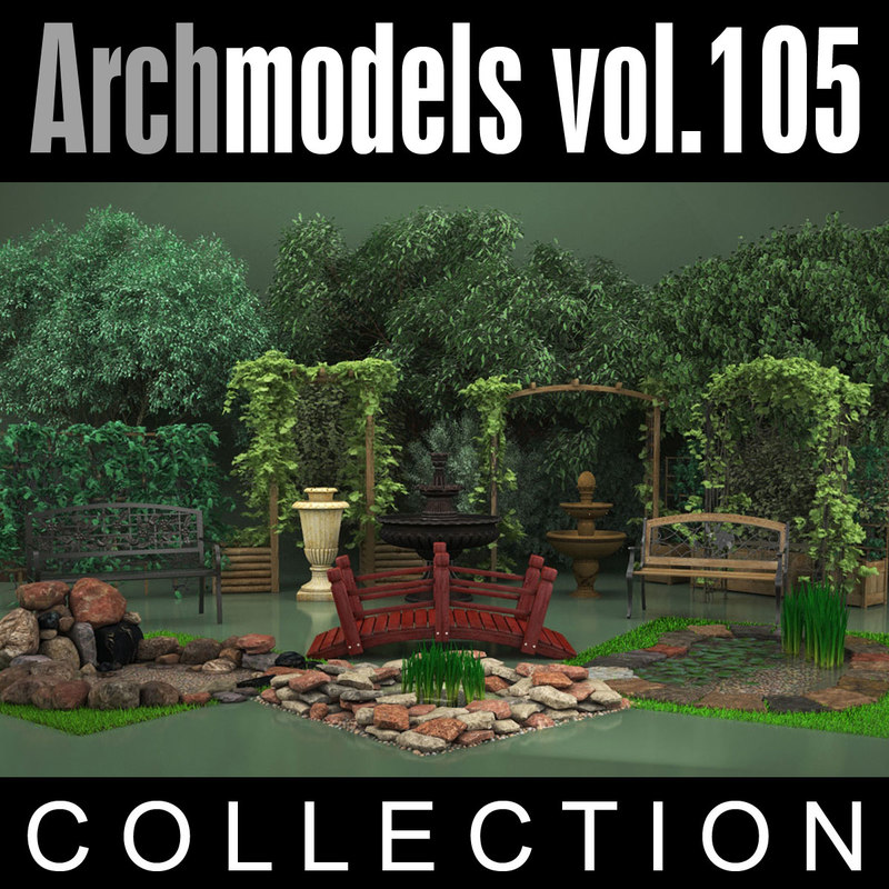 archmodels vol 105 garden max