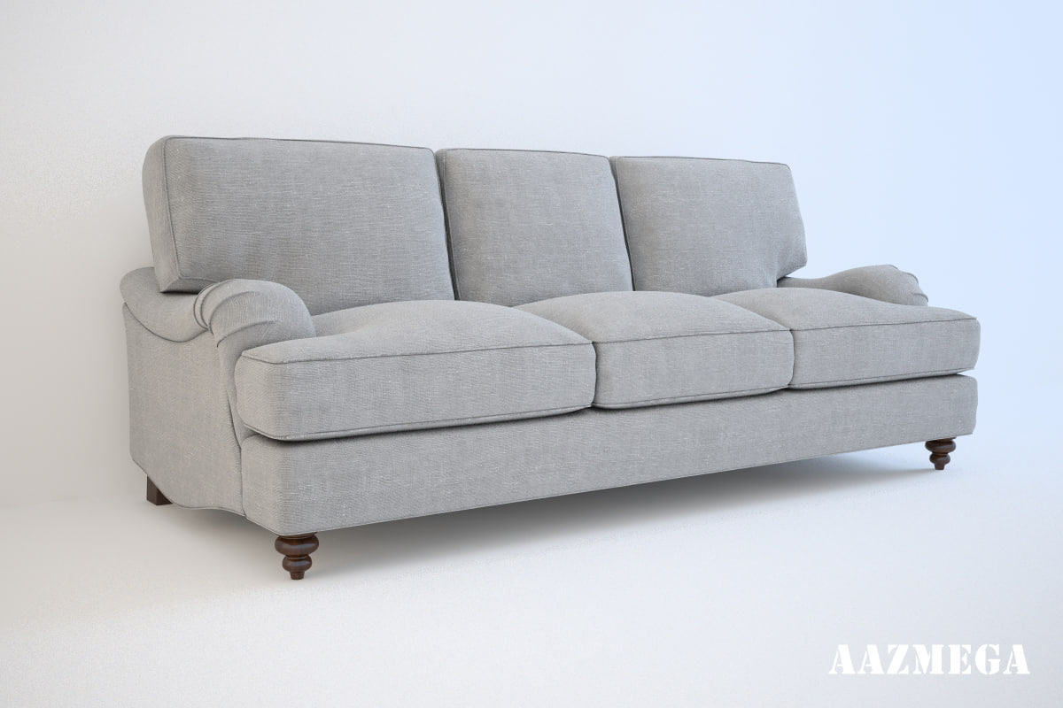 baker bishop sofa 3d model