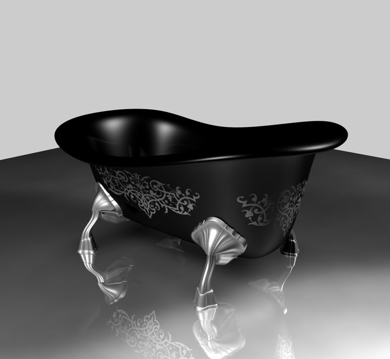cinema4d gothic bath