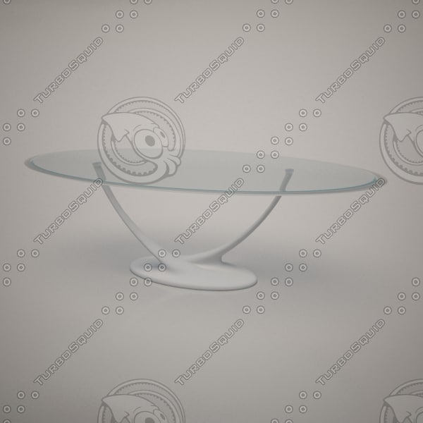 3ds max cattelan italia coral dining table