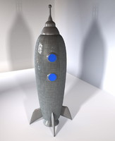 Toy Rocketship A