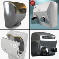 3d model hand dryers v2