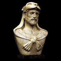 Hercules Bust Statue