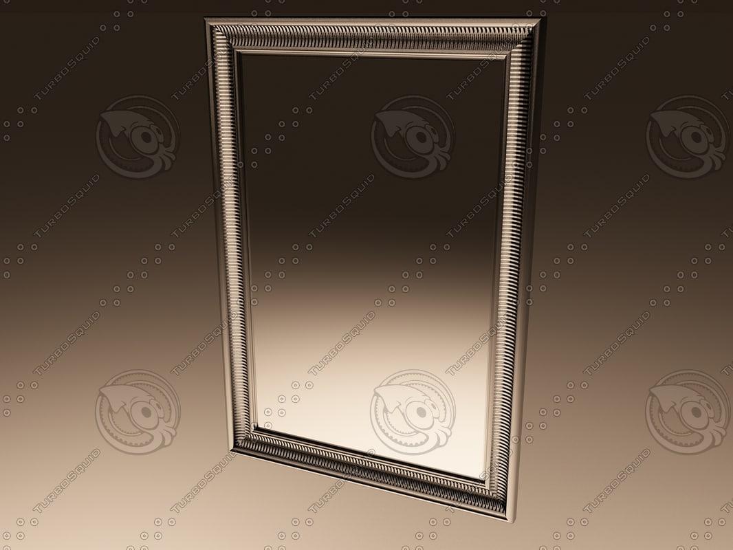 3d ikea mirror songe